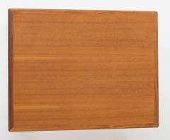 Bertil Fridhagen Pair of Swedish Mid Century Side Tables in Walnut by Bertil Fridhagen - 1620357