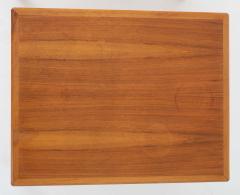 Bertil Fridhagen Pair of Swedish Mid Century Side Tables in Walnut by Bertil Fridhagen - 1620359