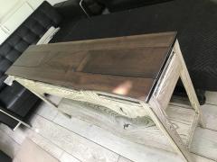 Bespoke Console Reclaimed Walnut Rescued Ash - 1203409
