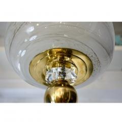 Bespoke Italian Brass Cream White Alabaster Glass Cylinder Pendant Lantern - 1389244