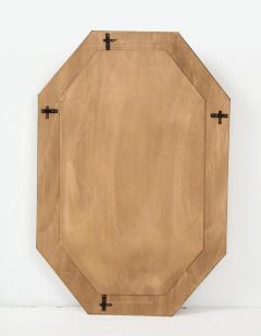Bespoke Octagon Pink Murano Glass Mirror in Stock - 1614281