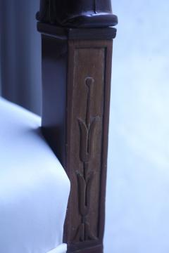 Biedermeier Armchair Cherrywood with Carvings France circa 1820 - 1325437