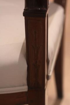 Biedermeier Armchair Cherrywood with Carvings France circa 1820 - 1325440