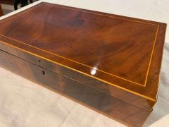 Biedermeier Casket Box Mahogany French Polish Austria Vienna circa 1830 - 1612408