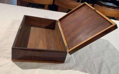 Biedermeier Casket Box Mahogany French Polish Austria Vienna circa 1830 - 1612415