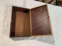 Biedermeier Casket Box Mahogany French Polish Austria Vienna circa 1830 - 1612416