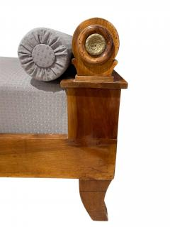 Biedermeier Chaise Longue Polished Walnut Germany circa 1820 - 1240291