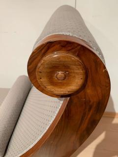 Biedermeier Chaise Longue Polished Walnut Germany circa 1820 - 1240293