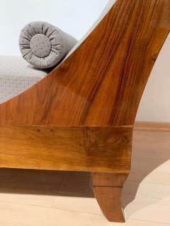 Biedermeier Chaise Longue Polished Walnut Germany circa 1820 - 1240294