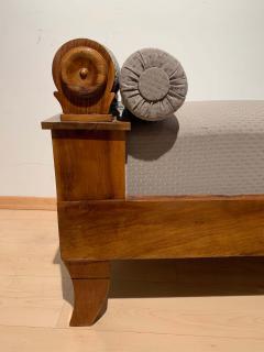 Biedermeier Chaise Longue Polished Walnut Germany circa 1820 - 1240296
