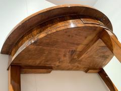 Biedermeier Demi Lune Console Table Walnut Veneer South Germany circa 1825 - 1958827