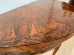 Biedermeier Demi Lune Console Table Walnut Veneer South Germany circa 1825 - 1958831