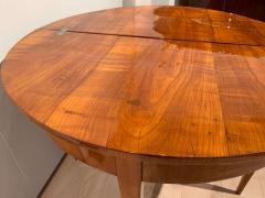 Biedermeier Demi Lune Fold Out Table Cherry Veneer South Germany circa 1820 - 1958810