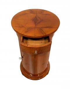 Biedermeier Drum Table Cherry Veneer South Germany circa 1820 - 1161768