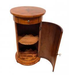 Biedermeier Drum Table Cherry Veneer South Germany circa 1820 - 1161769