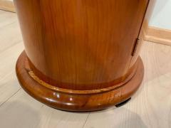 Biedermeier Drum Table Cherry Veneer South Germany circa 1820 - 1161773