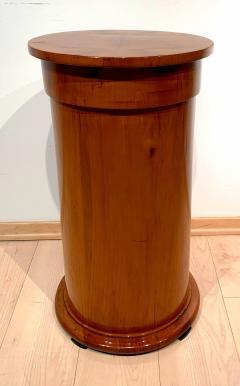 Biedermeier Drum Table Cherry Veneer South Germany circa 1820 - 1161774
