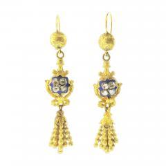 Biedermeier Earrings - 100003