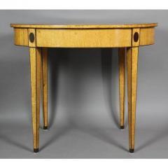 Biedermeier Karelian Birch Center Table - 1532696