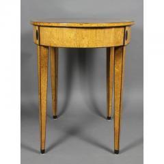 Biedermeier Karelian Birch Center Table - 1532698