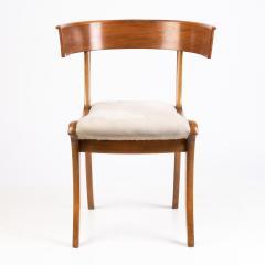 Biedermeier Klismos form chair with sabre front legs - 1936396