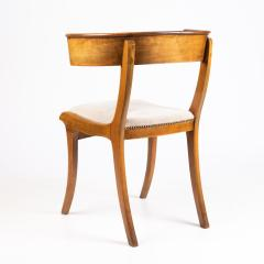 Biedermeier Klismos form chair with sabre front legs - 1936399