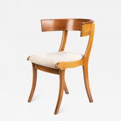 Biedermeier Klismos form chair with sabre front legs - 1937415