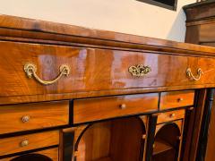 Biedermeier Secretaire Walnut Veneer Cherry Brass Austria Vienna circa 1820 - 2129588