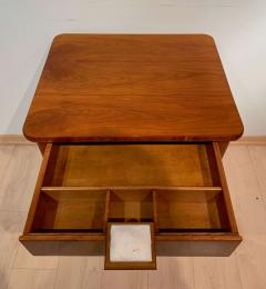 Biedermeier Sewing Table Cherry Veneer Austria circa 1825 1830 - 1169899