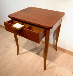 Biedermeier Sewing Table Cherry Veneer Austria circa 1825 1830 - 1169901