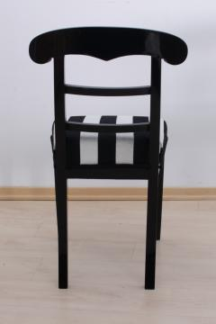 Biedermeier Shovel Chair Ebonized Wood Austria circa 1820 - 955102