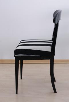 Biedermeier Shovel Chair Ebonized Wood Austria circa 1820 - 955103