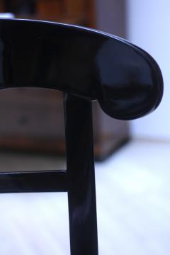 Biedermeier Shovel Chair Ebonized Wood Austria circa 1820 - 955107