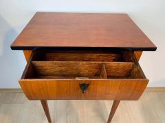 Biedermeier Side Table with Drawer Cherry Veneer South Germany circa 1820 - 1808538