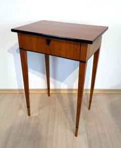 Biedermeier Side Table with Drawer Cherry Veneer South Germany circa 1820 - 1808542