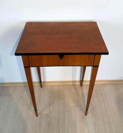 Biedermeier Side Table with Drawer Cherry Veneer South Germany circa 1820 - 1808543