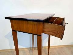 Biedermeier Side Table with Drawer Cherry Veneer South Germany circa 1820 - 1808545