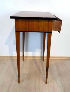 Biedermeier Side Table with Drawer Cherry Veneer South Germany circa 1820 - 1808547