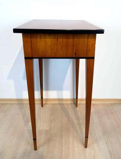 Biedermeier Side Table with Drawer Cherry Veneer South Germany circa 1820 - 1808549