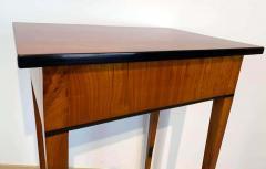 Biedermeier Side Table with Drawer Cherry Veneer South Germany circa 1820 - 1808551