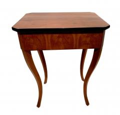 Biedermeier Side Table with Drawer Cherry Veneer South Germany circa 1830 - 1439212