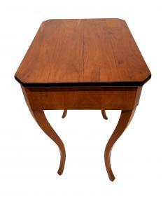 Biedermeier Side Table with Drawer Cherry Veneer South Germany circa 1830 - 1439213