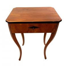Biedermeier Side Table with Drawer Cherry Veneer South Germany circa 1830 - 1439214