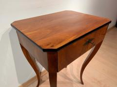 Biedermeier Side Table with Drawer Cherry Veneer South Germany circa 1830 - 1439215