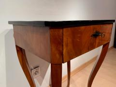 Biedermeier Side Table with Drawer Cherry Veneer South Germany circa 1830 - 1439216