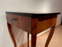 Biedermeier Side Table with Drawer Cherry Veneer South Germany circa 1830 - 1439217