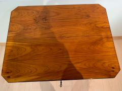 Biedermeier Side Table with Drawer Cherry Veneer South Germany circa 1830 - 1439220