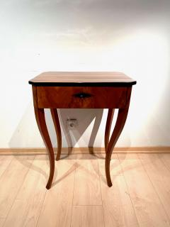 Biedermeier Side Table with Drawer Cherry Veneer South Germany circa 1830 - 1439221