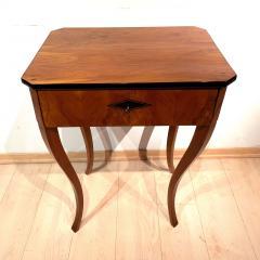 Biedermeier Side Table with Drawer Cherry Veneer South Germany circa 1830 - 1439222