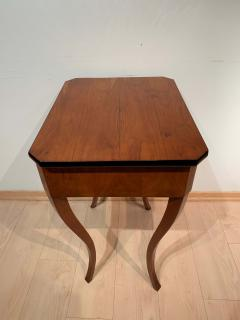 Biedermeier Side Table with Drawer Cherry Veneer South Germany circa 1830 - 1439223